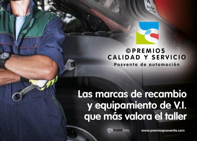 Premios Calidad y Servicio 2019 talleres de vehículo industrial
