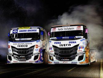 Iveco presenta los nuevos camiones de competición S-WAY R