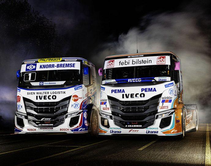 presentación camiones de competición Iveco S-WAY R
