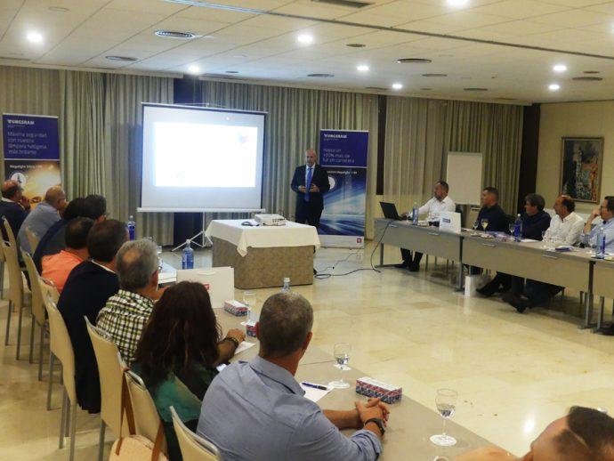 presentación de Tungsram en hotel Hesperia Sant Just Desvern