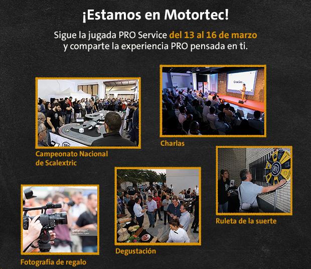 PRO Service actividades en Motortec 2019