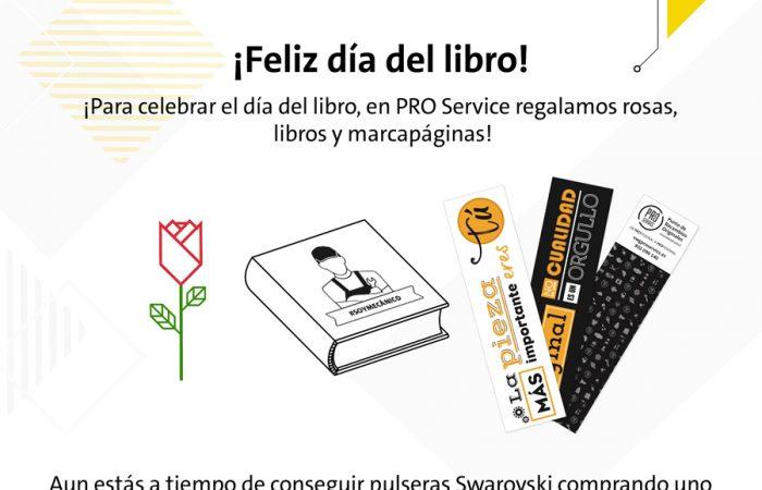 pro service celebra dia internacional del libro y sant jordi 700x450