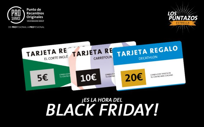 PRO Service promoción Black Friday