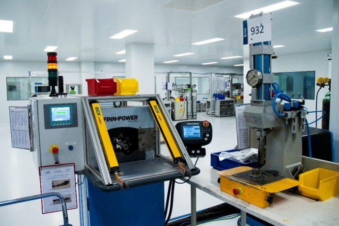 proceso fabricación sondas FAE