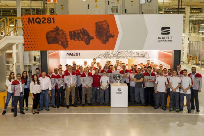 producción caja de cambios MQ281 Grupo Volkswagen