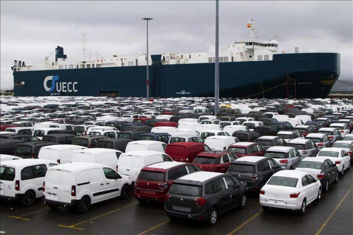 producción de vehículos enero 2018