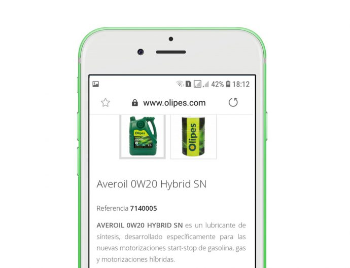 productos Olipes en WhatsApp