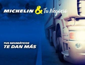 Los profesionales del transporte ya pueden beneficiarse de Michelin&TuNegocio