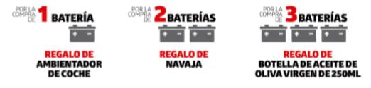 promo abril baterías Auto y VI GS Yuasa