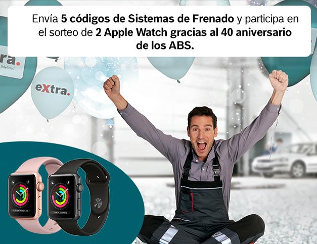 promo Bosch eXtra Apple iWatch