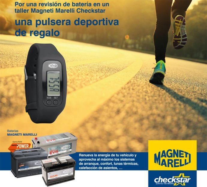 promo pulsera deportiva Magneti Marelli Checkstar