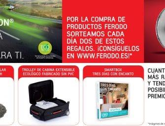 Premios por la compra de las pastillas de freno ecológicas Ferodo Eco-Friction