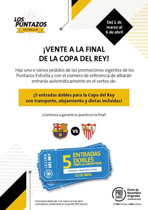 promoción PRO Service para la Copa del Rey 2018