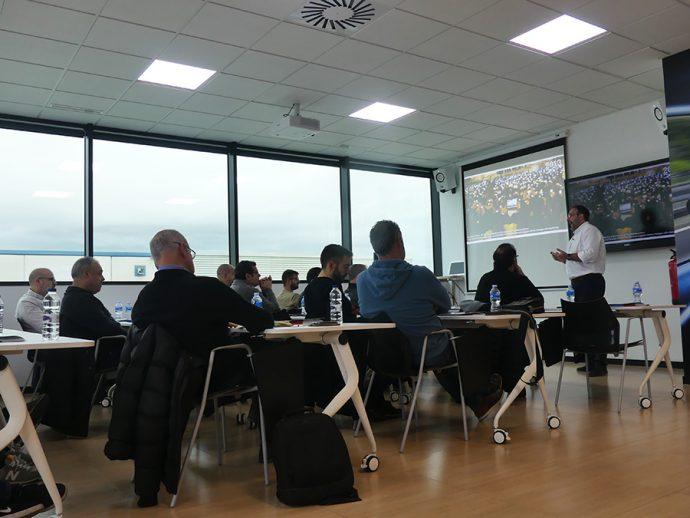 Raül Lleida formación a talleres en Grupo Vagindauto
