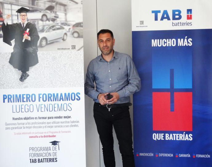 Raúl Pacho formación TAB Spain