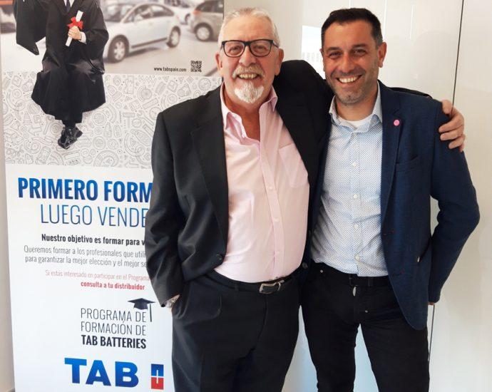 Raúl Pacho releva Federico Martínez en TAB Spain