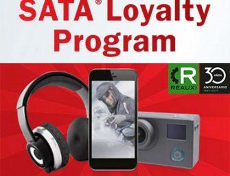 SATA activa un programa de fidelidad por la compra de depósitos desechables