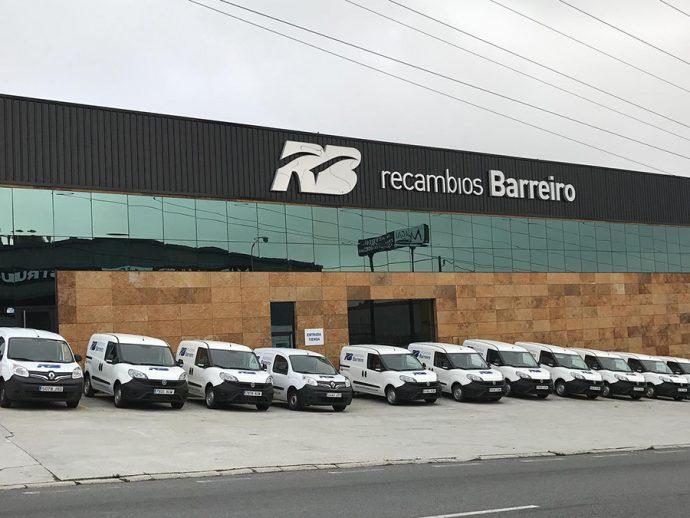 Recambios Barreiro adquisición delegaciones de Nors Civiparts en Valencia y Mérida