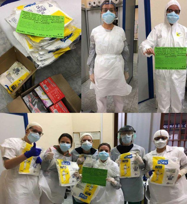 Recambios Segorbe donación hospitales crisis del coronavirus