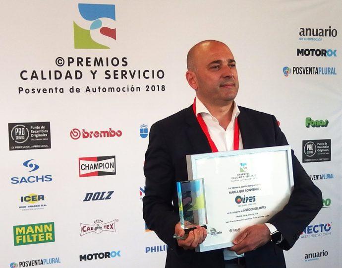 refrigerantes OLIPES Premios Calidad y Servicio