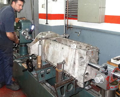 reparacion del motor