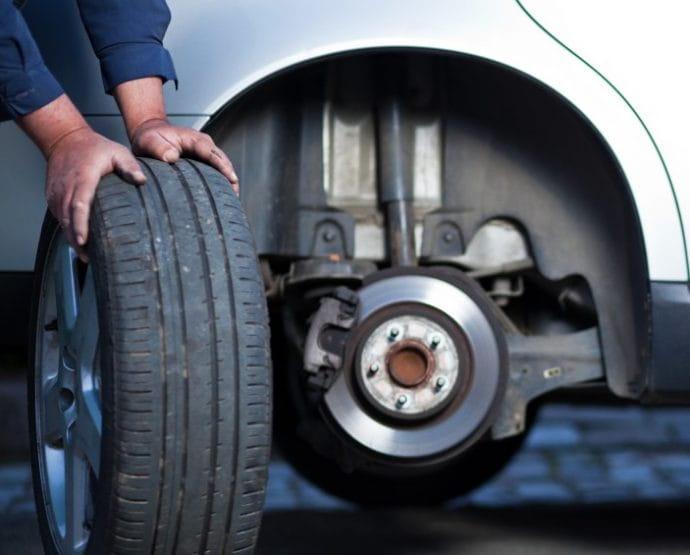 revisión de los neumáticos tras cuarentena por estado de alarma