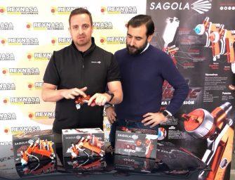Reynasa y Sagola presentan las nuevas pistolas 3300 GTO y 4600 Xtreme