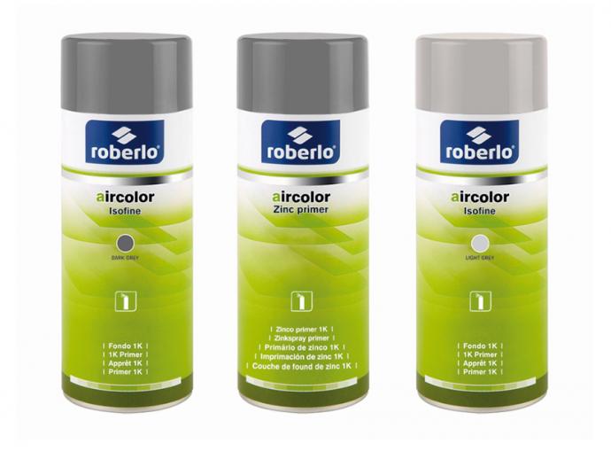 Roberlo amplía y renueva su gama de sprays Aircolors para reparación de carrocería