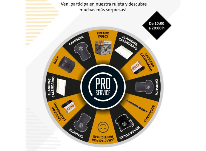 ruleta PRO Service Autopro Saló