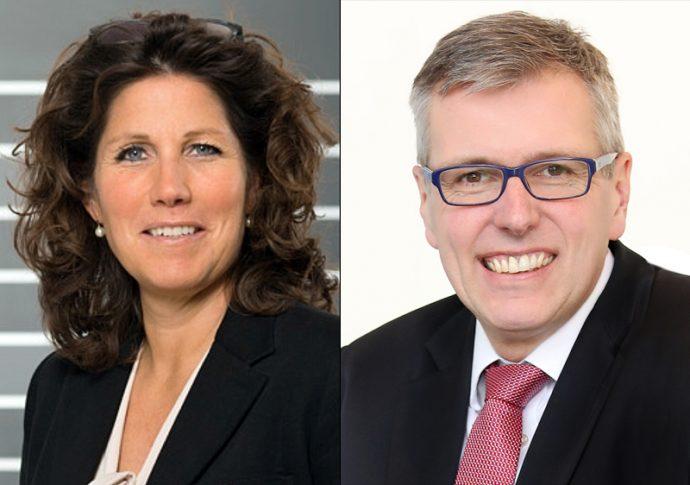Sabine Jaskula y Holger Klein ZF