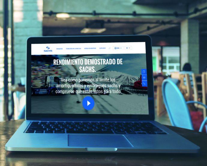 Sachs nueva página web