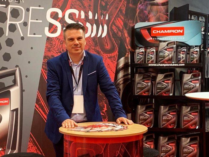 Salvador Llombart director de Ventas de Champion Lubricants Iberia