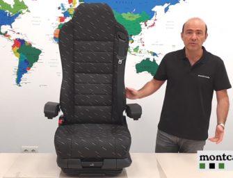 Montcada presenta en vídeo la butaca de conductor Pilot Xtreme