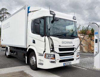Scania lanza su primera gama de camiones eléctrificados
