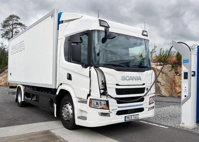 Scania nueva gama camiones eléctricos e híbridos