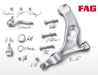 Schaeffler presenta la nueva gama de suspensión y dirección FAG