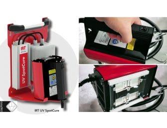 Zaphiro presenta el nuevo secador UV SpotCure de la sueca IRT