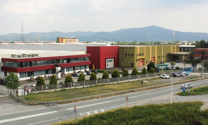 sede central Covind en Italia