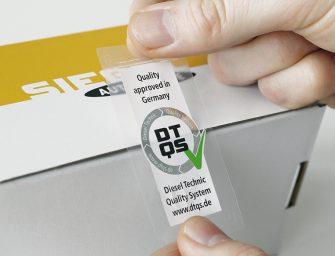 Nuevo sello de calidad en los productos SIEGEL Automotive
