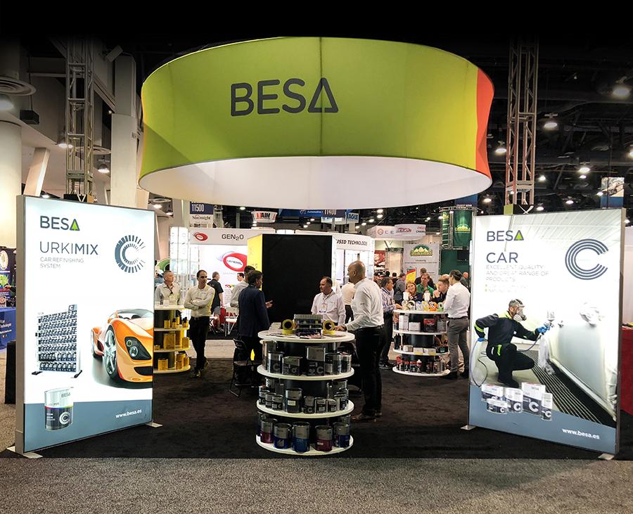 SEMA Show 2018 BESA