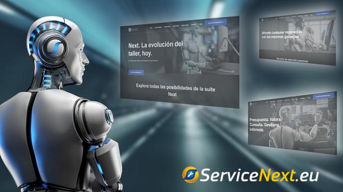 Serca nueva plataforma ServiceNext.eu