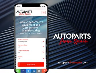 Sernauto e ICEX España presentan la nueva plataforma digital Autoparts from Spain