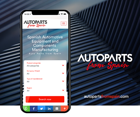 sernauto autoparts from spain