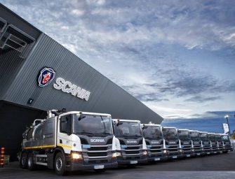 Joga incorpora diez camiones Scania con cisterna ADR