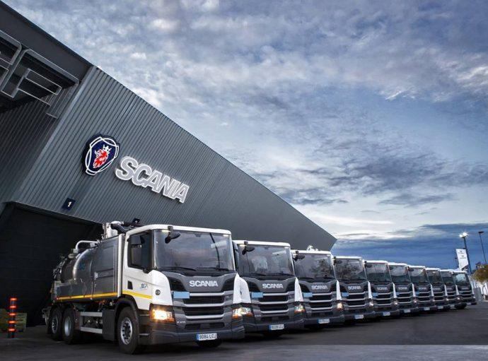 Servicios y Mantenimientos Joga incorpora camiones Scania con ADR