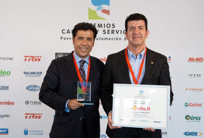 Shell Premios Calidad y Servicio 2018