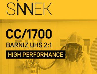 Sinnek lanza su nuevo barniz UHS CC1700 de alto rendimiento