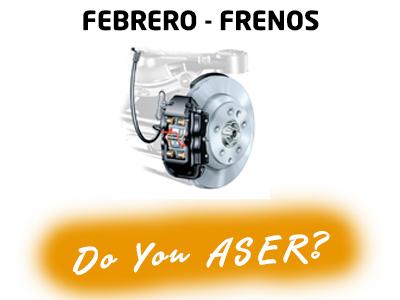 sistema de frenos Causa ASER febrero 2020