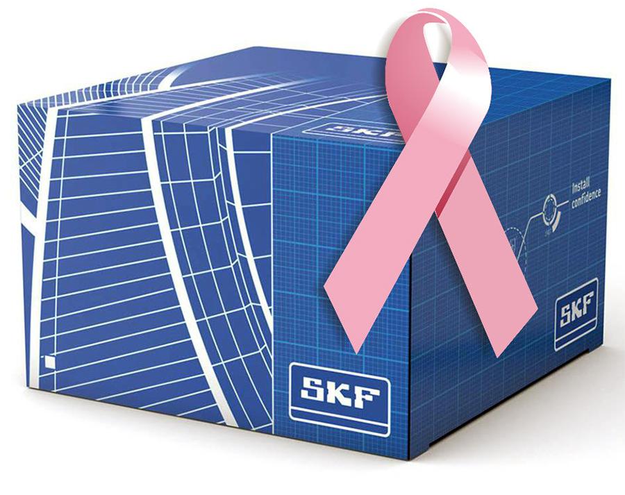 SKF caja lazo rosa