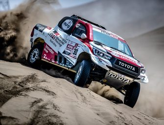 La tecnología de SKF, presente en el equipo Toyota Gazoo Racing del Rally Dakar